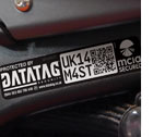 Datatag Primary Visible Tamper Evident Warning Labels
