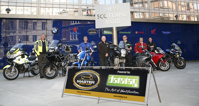 Launch of the Master Security Scheme outside New Scotland Yard
