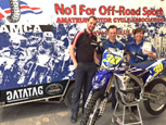NATIONAL MOTOCROSS ORGANISING BODY, THE AMCA, CHOOSE DATATAG TO PROTECT THEIR FLEET OF YAMAHA OFF ROAD BIKES